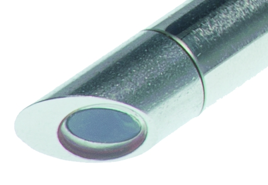 用于測量粉末和粘稠液體的反射式探頭